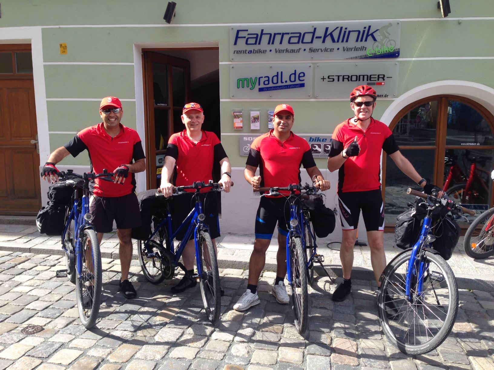 fahrradklinik Passau verleih rental Gäste guests